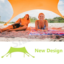 2017 Trending Products Camps/ Best Beach Shade UV Beach Tent, Custom Logo Multi Colors Sun Shelter