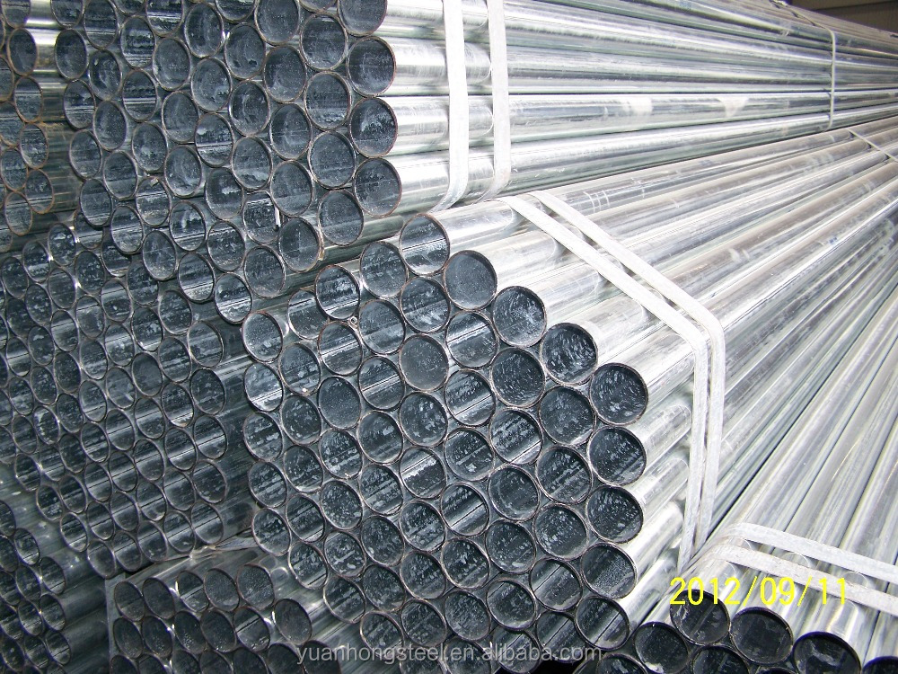 pre-galvanized steel tube with plastic cups