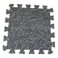 gym rubber interlock tile