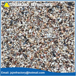 High alumina Sintered fireclay calcined bauxite aggregate
