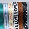 100 Polyester Custom Printed Satin Ribbon