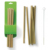 Hot sale factory price eco friendly bamboo paper party biodegradable spoon drinking straws