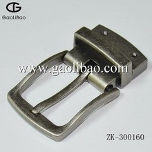 30MM Zinc alloy pin turning buckles New European pin buckles for belt ZK-300160