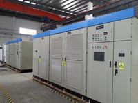 High voltage variable frequency inverter for fuel delivery pump