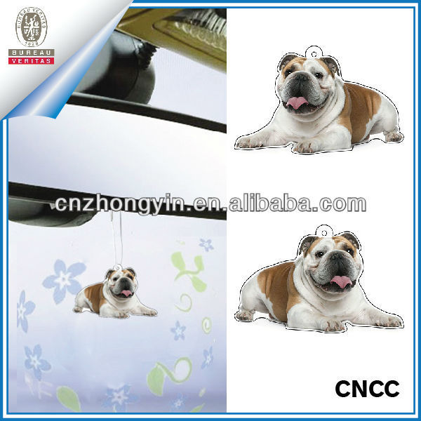 2mm absorbent paper full color printing car fragrance paper air freshener (ZY20-5480)