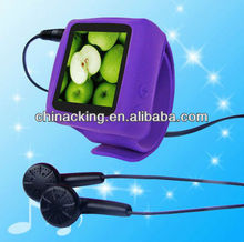 Portable FM function mp4 wrist watch with ebook