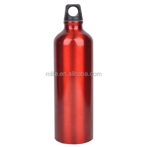 large volume mountaineering use 1000ml aluminum bottle