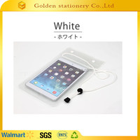 Transparent pvc waterproof dry pouchs for mobile