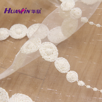 2016 new arrival hot selling wholesale tulle fabric tulle curtain fabric