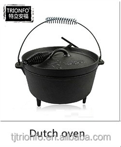 Hot sale pre-seasoned alibaba cast iron dutch wholesale