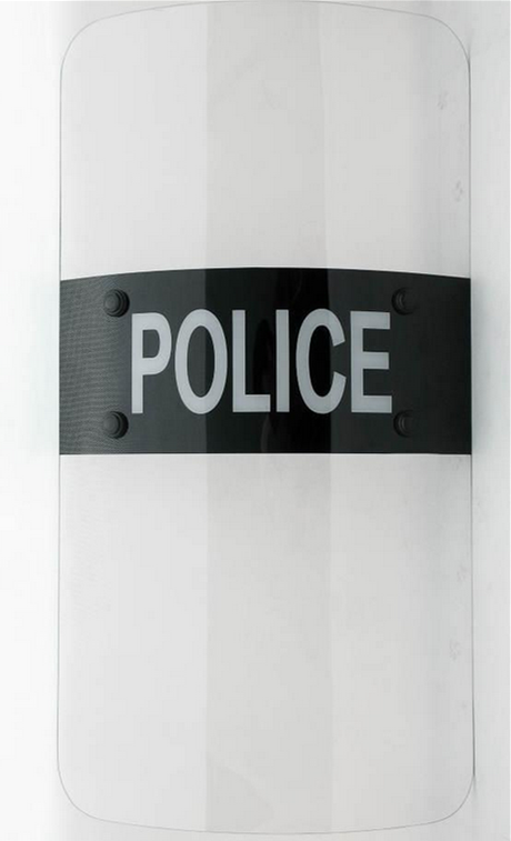 Transparent reinforced Polycarbonate anti riot shield , low price solid polycarbonate panels for anti riot shield