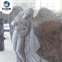 Uk Style Tombstone Angel Headstone