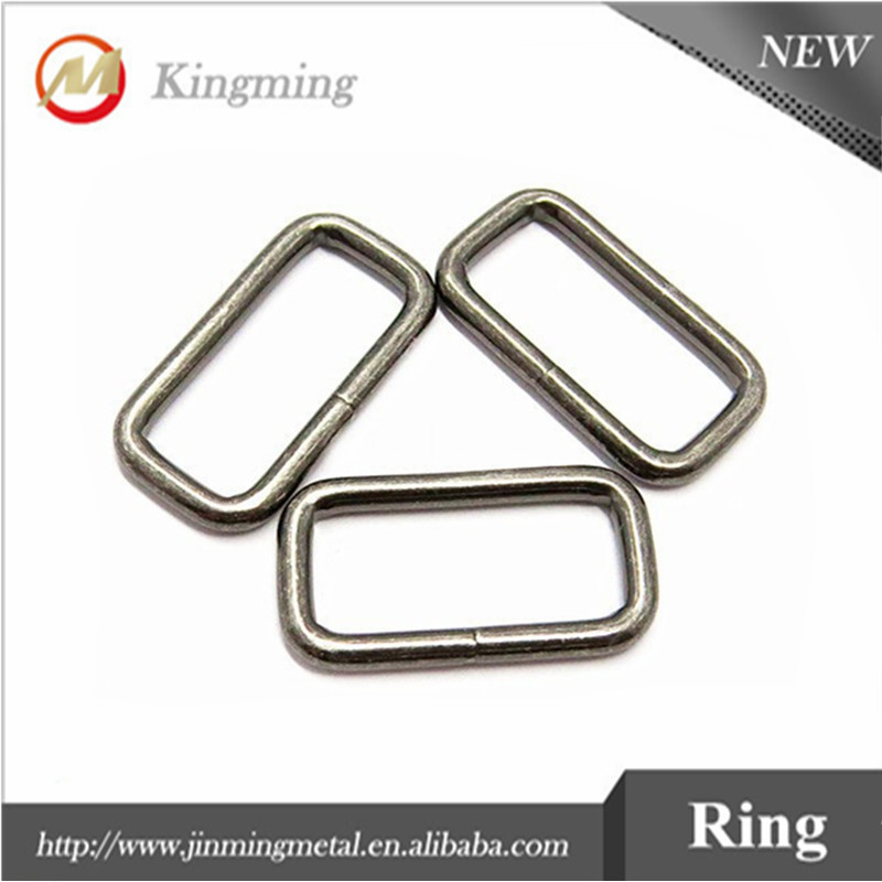 25mm Fashion Rectangle Metal Ring For Bags