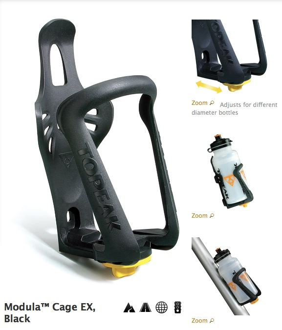 TOPEAK bike water bottle holder for wholesale, Modula Cage EX