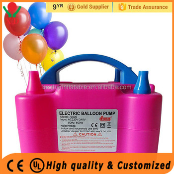 Factory price electric balloon pump price inflatable hand pump air pump for latex balloon