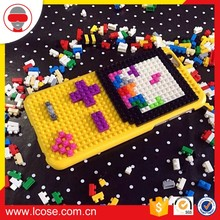 Lcose Building Block Silicone Phone Case for iPhone