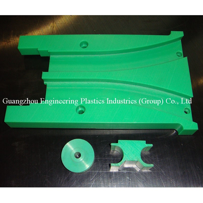 Custom made high self-lubrication and hing perfoemance plastic guide rail