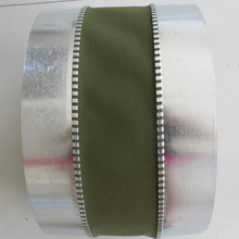 Polyester canvas flexible duct connector