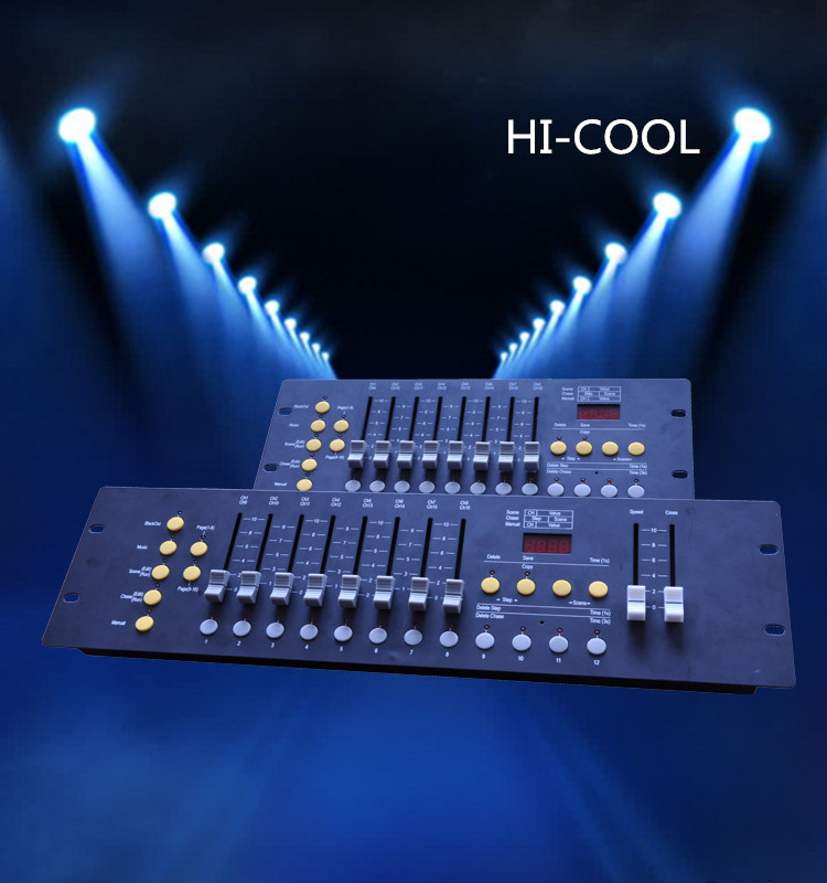 HI-COOL DMX 512 console/192 controller/dmx moving head controller