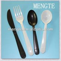 heavy weight disposable kids plastic cutlery set