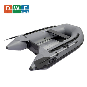 Zodiac Aluminum Floor Inflatable PVC Material Fishing Boat Factory Cheap Price