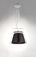 Glass fabric lighting modern Restaurant hanging light