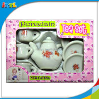 A615032 Nice Gift Porcelain CUTE Tea Pot Set Tea Toy for Children Chinese Tea Cup Set