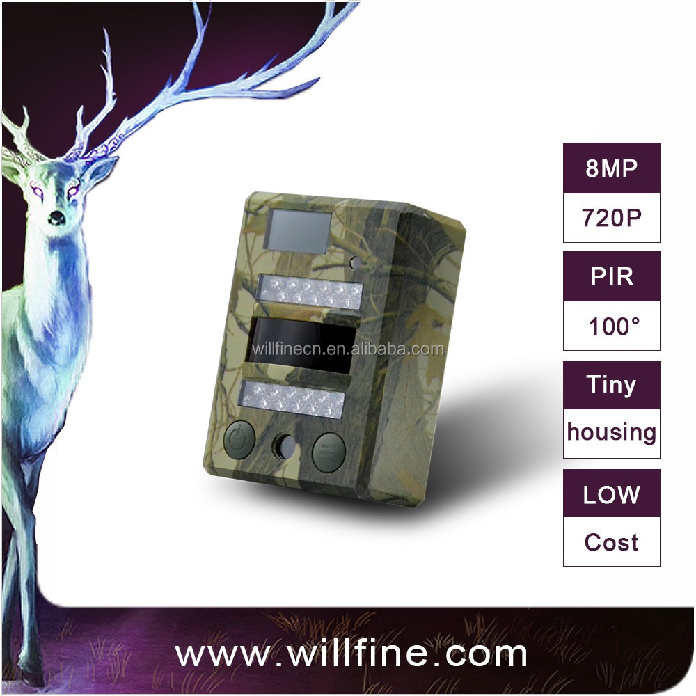 8MP 720P 940nm invisible IR LEDs CE/FCC/ROHS approved wild game camera hunting