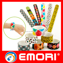 Quality products cute promotional silicone slap band