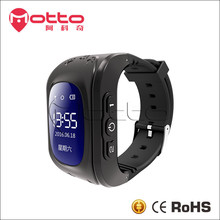 Multi-functions OLED q50 kids gps smart watch for android