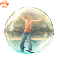 Super quality roll inside inflatable water ball price from China factory