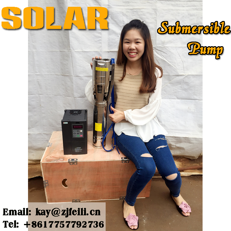 solar panel submissible water pump 15hp manufacturer solar submersible pump