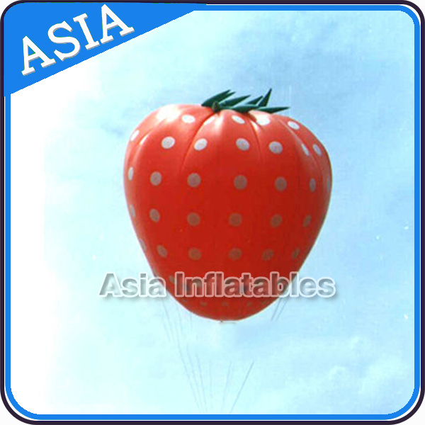 Giant Inflatable Strawberry Balloon Big Advertising Balloon for Sale