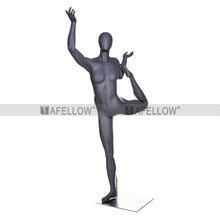 Dancing female mannequin flying woman doing sports HEF-35-H