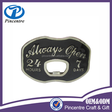 Custom bottle opener belt buckle/bottle opener belt buckle made in china
