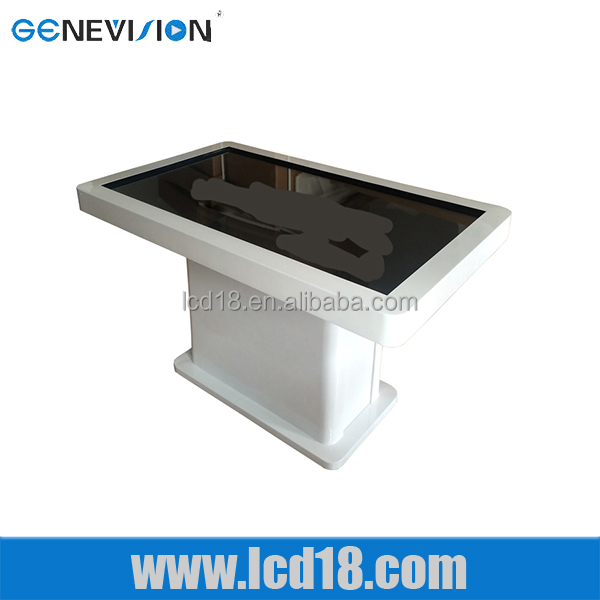 42 Inch stand table touch screen lcd kiosk interactive multimedia kiosk with touch screen and PC