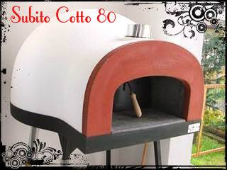 """Subito Cotto"" (Ready to cook) Italian ready to use wood fired oven"