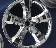 20*8.0INCHES CAR ALLOY WHEEL RIM FOR CHROME FINISHING