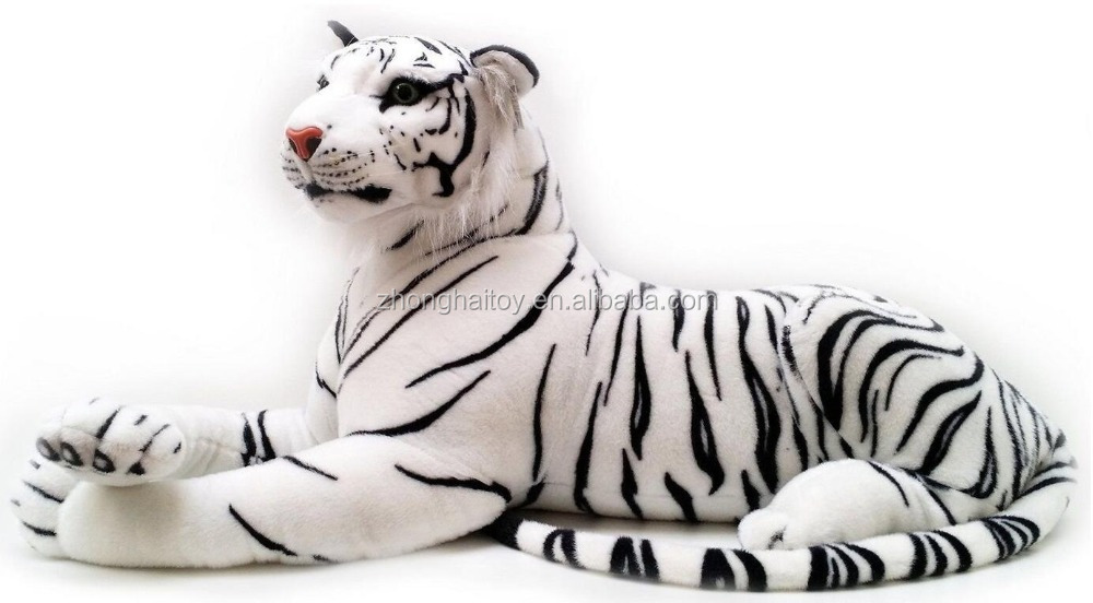 Large White Tiger Stuffed Soft Plush 140cm 5 FREE BABY TIGER