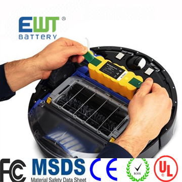 14.4V 500seires vacuum cleaner battery nimh vacuum cleaner battery