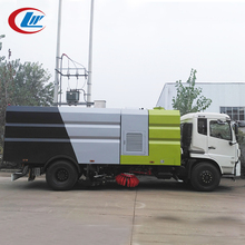 DONGFENG 4*2 190hp road washing sweeping sweeper vac truck vehicle