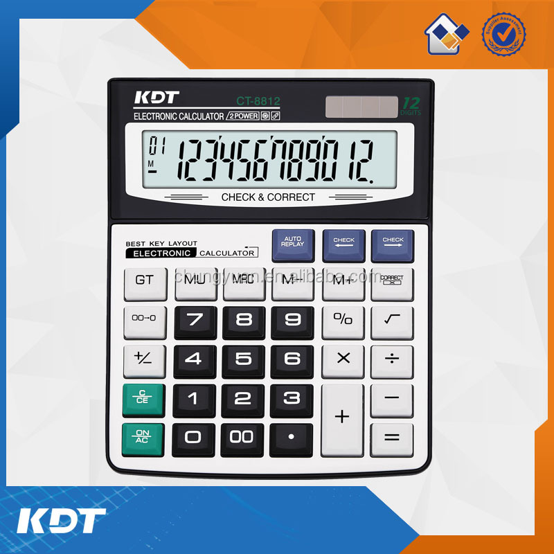 Hot sale 112 steps check correct calculator for wholesale