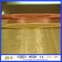 shielding copper mesh / rfid blocking fabric / brass wire gauze (free sample)