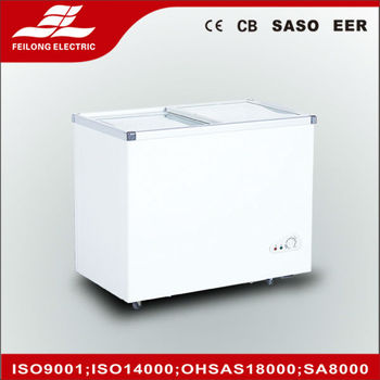 218L BD-218Q chest freezer with SASO ,CE,CB