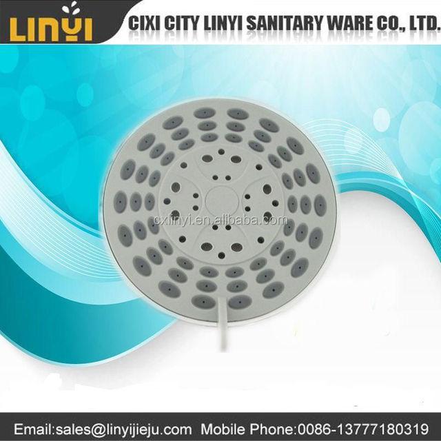 alibaba china manufacturer supply 100mm fresh abs plastic multi-function rain shower head/rain shower/water tap shower rose