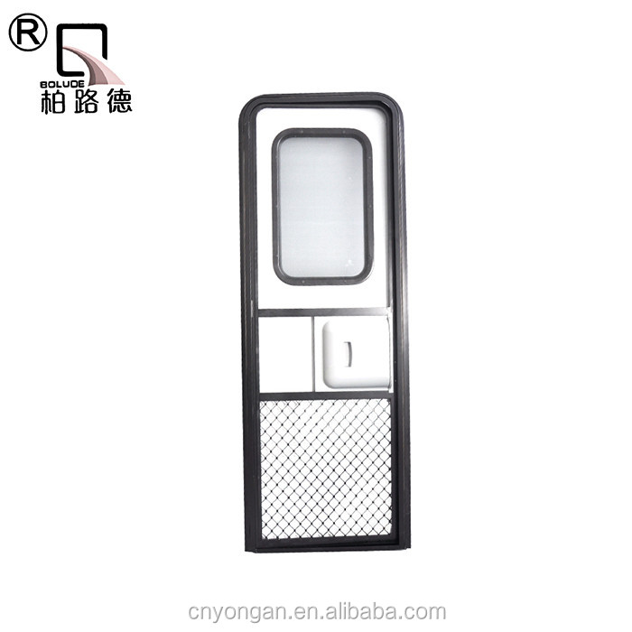 Hot asle professional and high quality teardrop trailer door