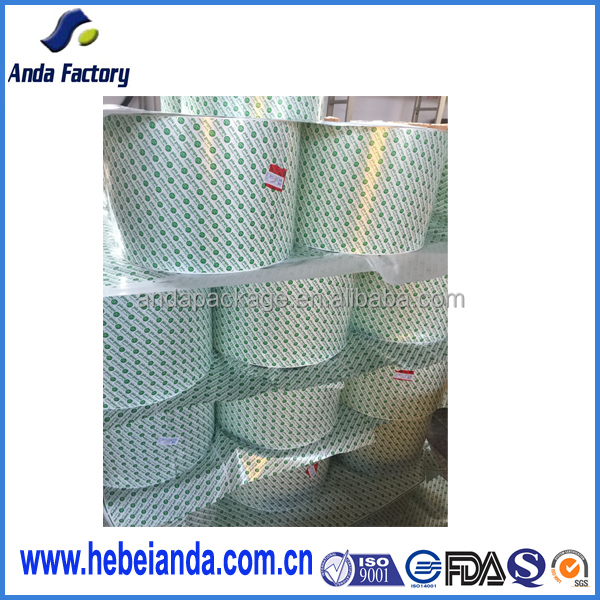 heat sealable colorful printing qualified pie pops wrapper film roll and bags