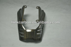 carbon fiber motorcycle replace part Exhaust Cover for Triumph Daytona 675