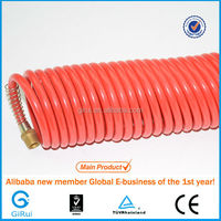"Diameter 1/4"" flexible pvc pu soft air intake hose pipe with fittings"