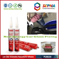 Excellent water, weather and aging resistance PU8630 roof seams adhesive auto glass polyurethane sealant